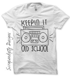 Rock and Roll Iron on Transfer  Boombox by ScrapendipityDesigns, $2.50