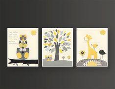 Kids Wall Art Nursery Art Print Baby Nursery Decor by DesignByMaya, $50.00