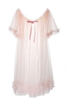 6384cd75fd6a0 Short Sheer Dressing Robe Boudoir Pin-Up by dottiesdelights Frou Frou