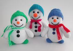 Crochet Snowmans
