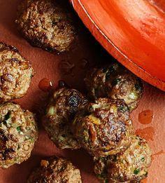 Yrttilihapullat | Soppa365 Good Food, Food And Drink, Snacks, Meat, Drinks, Healthy, Koti, Interesting Recipes, Dinners