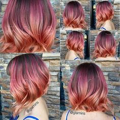 Next hair color! I love this!!