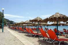 Sunbed & umbrella rental business on Psili Ammos beach in #Tolo, #Peloponnese - #Greece Santorini, Greece Wedding, Greek Islands, Beaches, Vacation, Business, Outdoor Decor, Block Island, Athens