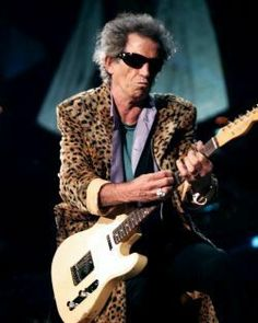 Keith Richards  '57 Fender Telecaster - Mister Telecaster himself (without the lower E string)