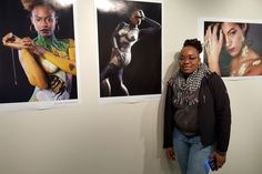 More than 150 people attended a reception for Grand Rapids Community College photo students' exhibition.