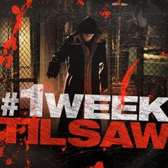 Where will you be on Halloween night? #1WeekTilSAW