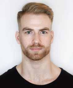 Male Hairstyles, Cool Hairstyles For Men, Cool Haircuts, Hairstyles Haircuts, Haircuts For Men, Just Beautiful Men, Gorgeous Guys, Pretty Men, Beard Styles For Men