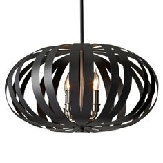 ENTRY WAY Woodstock Large Pendant by Feiss