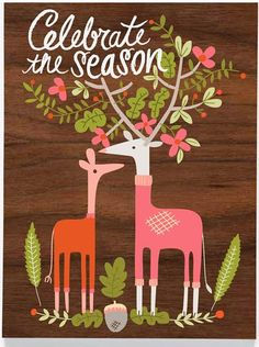 Carolyn Gavin has created another awesome Christmas collection for Ecojot this year. As you would expect from a company with such great . Woodland Christmas, Christmas Love, All Things Christmas, Winter Christmas, Vintage Christmas, Christmas Crafts, Christmas Ornaments, Merry Christmas, Christmas Illustration