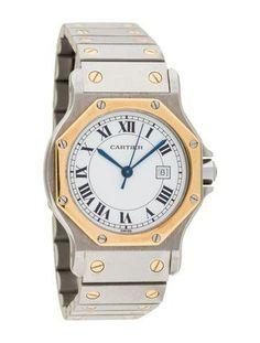35cc25e39fa Cartier Octagon Santos Watch Cartier Watches Women