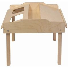 """Steffy 35"""" x 32"""" Novelty Activity Table Leg Height: 20"""", Tablet Type: iPad 1st Generation, Casters: Yes"""