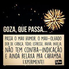 """5,633 curtidas, 98 comentários - ByNina (Carolina Carvalho) (@instabynina) no Instagram: """"Para bom entendedor... #humor #repost #gozaquepassa #prarir #bynina #instabynina"""""""