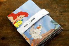 Envelopes made of recycled children book, #whitelilydesign