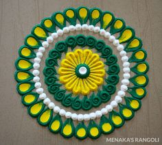 Rangoli Designs Peacock, Rangoli Designs Simple Diwali, Simple Rangoli Border Designs, Rangoli Designs Latest, Free Hand Rangoli Design, Small Rangoli Design, Rangoli Ideas, Rangoli Designs With Dots, Beautiful Rangoli Designs