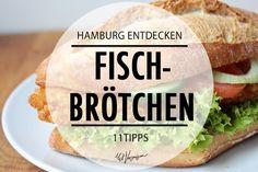 Hier kannst du die 11 besten Fischbrötchen Hamburgs essen
