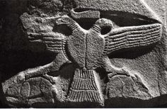 Hittite, relief two headed eagle, Alacahöyük, 1400 BC, Museum of Anatolian Civilisations, Ankara
