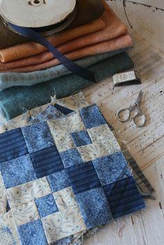 Blackbird Designs - One stitch at a time: Free Quilt Block Pattern