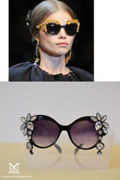 Embellished Jeweled Sunglasses