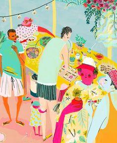 love print studio blog: The wonderful work of Mouni Feddag...