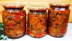 Ketogenic Recipes, Keto Recipes, Healthy Recipes, Marinated Vegetables, Canning Recipes, Preserves, Mason Jars, Needlework, Food And Drink
