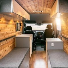"359 Likes, 15 Comments - Sprinter Van Conversion Co. (@vanlife_revolution) on Instagram: ""Can't get over how sick this van is! Check out more awesome vans at @townsend_travel_trailers •…"""