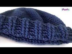 Ideas para el hogar: Gorro tejido con lana matizada punto puff