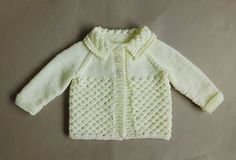 Danika means Morning Star (this design uses a version of star stitch) Danika Baby Jacket ~ with a Collar Danika Baby Jacket ~ without a Collar Danika Baby Jacket Requirements ~ DK yarn Source by lynleyharlen Jacket