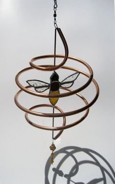 Bee+Hive+sun+catcher+by+GlassKissinCreations