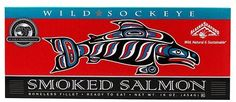 Sockeye Salmon | Alaska Smokehouse Smoked Sockeye Fillet in Gift Box, 16 oz