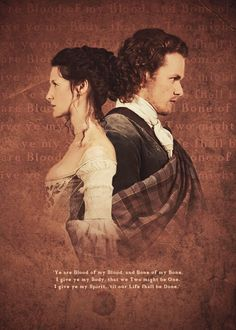 Gaelic Vow .... Jamie and Claire wedding day  Love this!!!