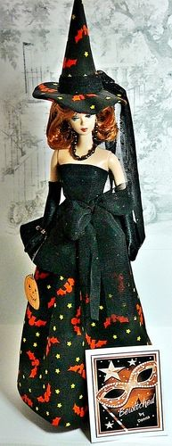 Beautiful Red Head Barbie ... Ready for Halloween FROM: Costumes