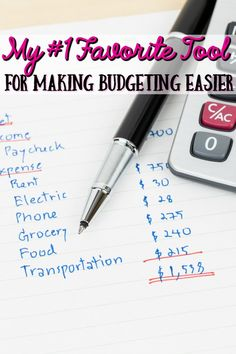 Budgeting shouldn't be hard and complicated and your budgeting software shouldn't be expensive and bulky! Let me show you my favorite tool to make budgeting your personal budget easier! #sponsored #BudgetEveryDollar @EveryDollar