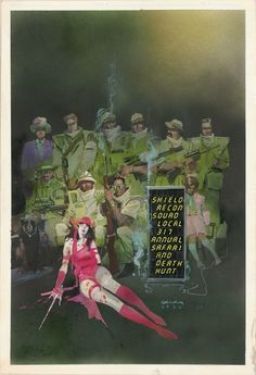 Elektra illustration by Bill Sienkiewicz