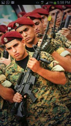Lebanses Army Rangers