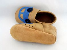Piloo handmade leather shoes with soft treads. Handmade Leather Shoes, Soft Leather, Slippers, Kid, Children, Baby, Fashion, Child, Young Children