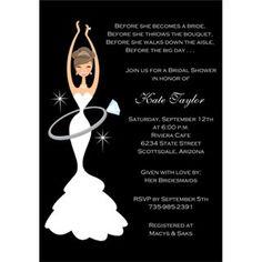 Bridal Shower Invitations Wedding Invitations Photos on WeddingWire