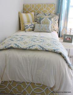 Dorm room designs designer dorm rooms 2014 Decor 2 Ur Door dorm room bedding now available! Hot dorm room bedding