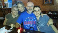 Betty, Princess, Robert, & RJ at Garcia's
