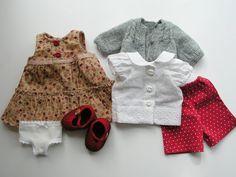 Waldorf rag doll clothes