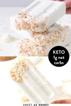 Low Carb Sweets, Low Carb Desserts, Healthy Desserts, Low Carb Recipes, Healthy Popsicle Recipes, Keto Dessert Easy, Dessert Recipes, Easter Recipes, Kreative Desserts