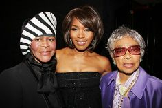 Cicely Tyson, Angela Bassett and Ruby Dee My Black Is Beautiful, Beautiful People, Beautiful Women, Gorgeous Gorgeous, Simply Beautiful, Black Girls Rock, Black Girl Magic, Angela Bassett, Black Celebrities