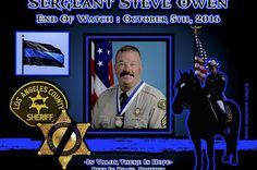 Sheriff John Scott of the Los Angeles County Sheriff Department in California, sadly reports the death of Sergeant Steve Owen.  http://www.lawenforcementtoday.com/in-memoriam-sergeant-steve-owen/
