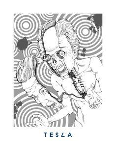 02 TESLA Keys - Herbie Hancock 'You're Dead!' Flying Lotus artwork by Shintaro Kago Lotus Artwork, Ero Guro, You're Dead, Movie Poster Art, Illustrations And Posters, Dark Art, Art Sketches, Original Artwork, Fantasy Art