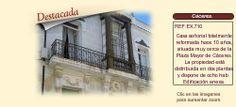 EX710 Cáceres.  Hostal con encanto en venta. http://www.lancoisdoval.es/hoteles-con-encanto-en-venta.html