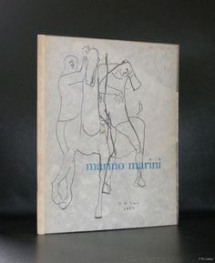 Museum Boymans # MARINO MARINI #1955, orig.silk, nm