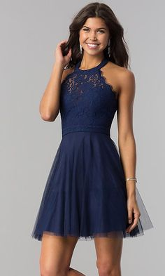 Shop for homecoming dresses and short semi-formal party dresses at Simply Dresses. Semi-formal homecoming dresses, short party dresses, hoco dresses, and dresses for homecoming events. Semi Dresses, Hoco Dresses, Elegant Dresses, Halter Dresses, Summer Dresses, Wedding Dresses, Short Winter Formal Dresses, Dresses For Homecoming, Semi Formal Dresses For Teens