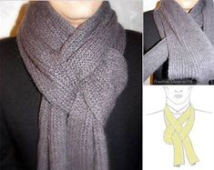 15+Ways+to+Transform+your+Scarf+in+Under+7+Minutes!+