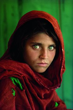 Curiosity inspires iconic photographer – CNN Photos - I have never forgotten this cover photo from National Geographic and her incredible green eyes.