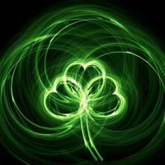 3 irish green hearts