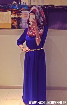 Hijab Style, Dress, Hijabi by www.FASHIONcovered.de